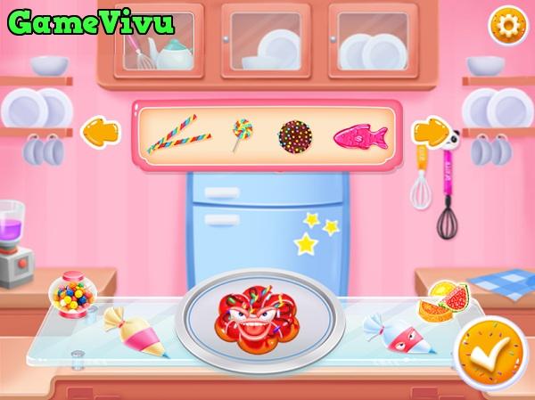 game Lam banh Donut Doowee hinh anh 4