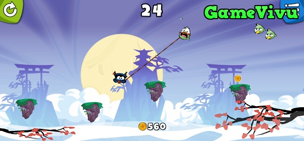 game Ninja du day hinh anh 3