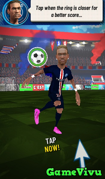 game PSG Football Freestyle hinh anh 1