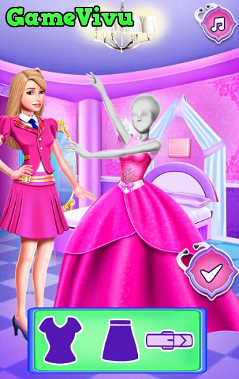 game Barbie bi treu choc hinh anh 4