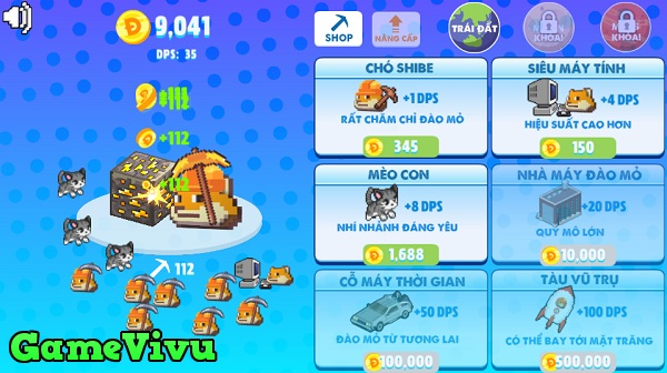 game Doge dao mo hinh anh 2