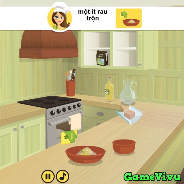 game Lam banh pizza chay hinh anh 1