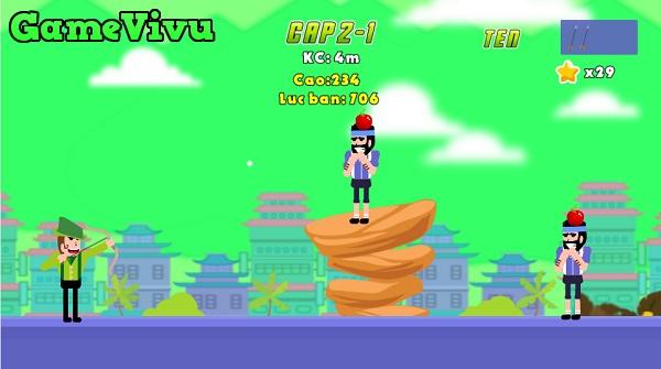game Cao thu ban cung hinh anh 3