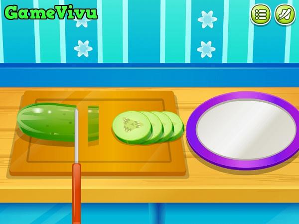 game Lam banh hot dog hinh anh 2