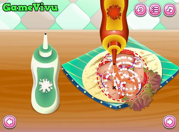 game Lam banh mi Doner Kebab hinh anh 4