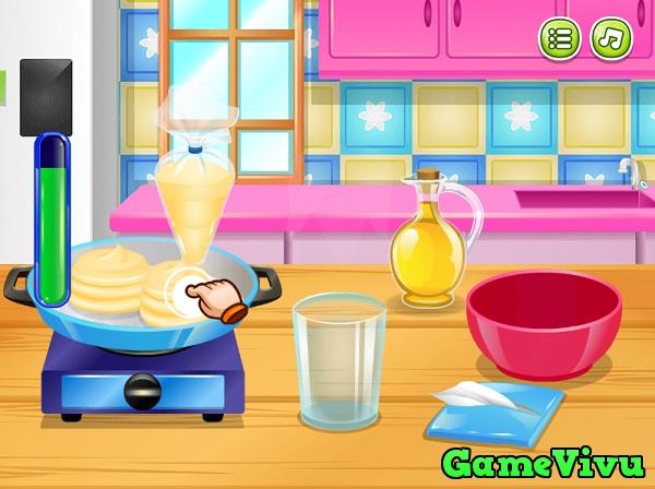game Lam banh pancake kem tuoi hinh anh 2