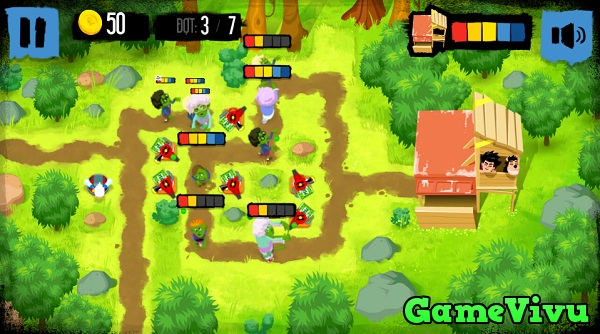 game Ngăn chặn zombie hình ảnh 3