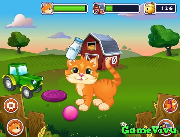game Nuôi mèo hình ảnh 1