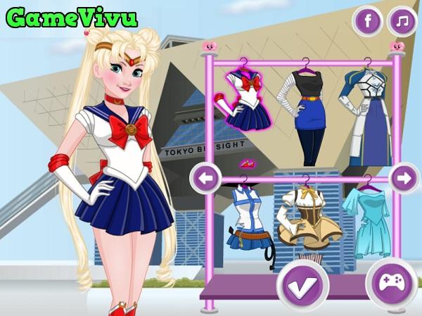 game Thoi trang cong chua anime hinh anh 1