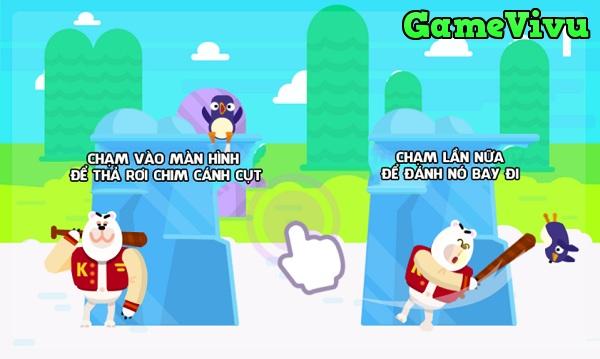game Bóng chày cánh cụt hình ảnh 1
