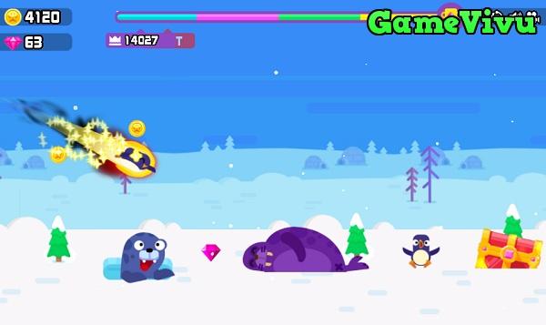 game Bóng chày cánh cụt hình ảnh 3