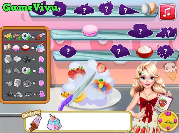 game Cua hang kem cua Elsa hinh anh 2