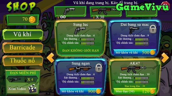 game Hanh tinh zombie 5 hinh anh 2