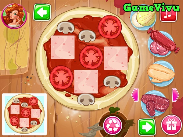 game Lam banh pizza ngon hinh anh 2