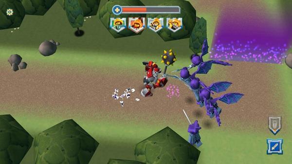 game Lego Nexo Knights hinh anh 2
