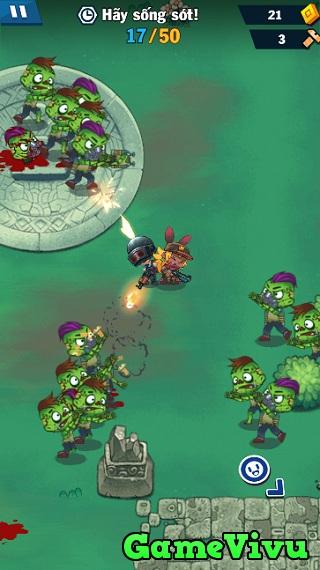 game PUBG bắn zombie hình ảnh 2