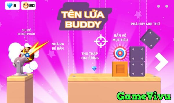 game Tên lửa Buddy hình ảnh 1