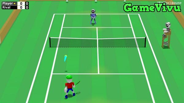 game Tennis nguoi may hinh anh 1