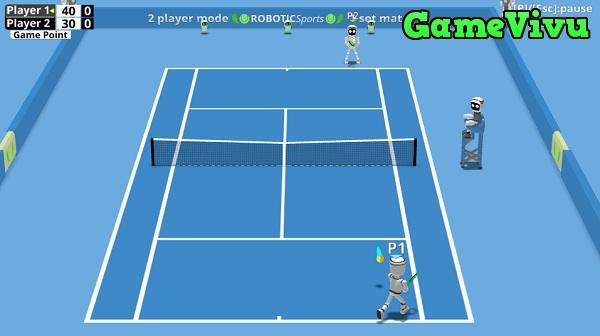 game Tennis nguoi may hinh anh 2
