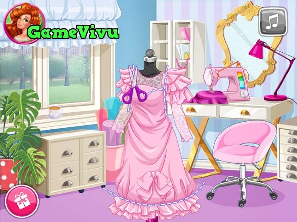 game Thiết kế váy xinh hình ảnh 1