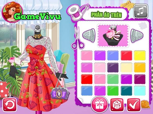 game Thiết kế váy xinh hình ảnh 2