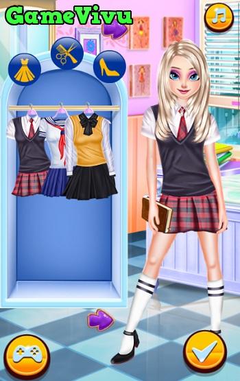 game Thời trang nữ sinh hình ảnh 1