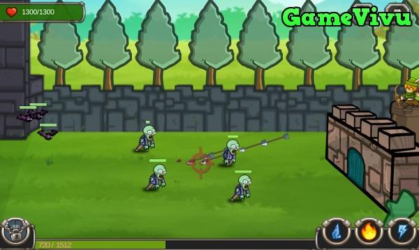 game Vua phòng thủ quái vật hình ảnh 1