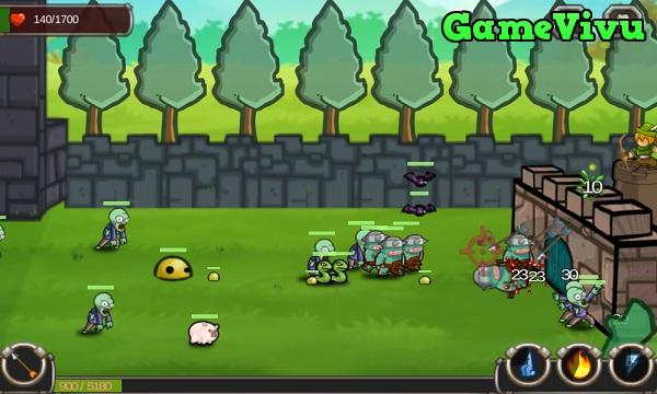 game Vua phòng thủ quái vật hình ảnh 4