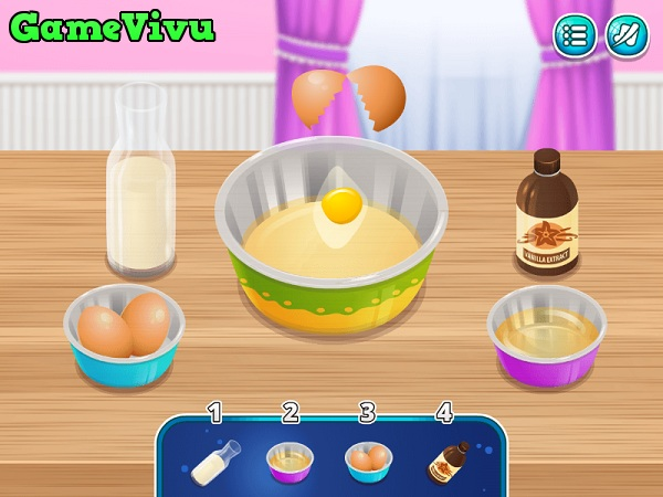 game Bánh quế kem tươi hình ảnh 1