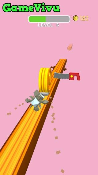 game Bào gỗ Spiral Roll
