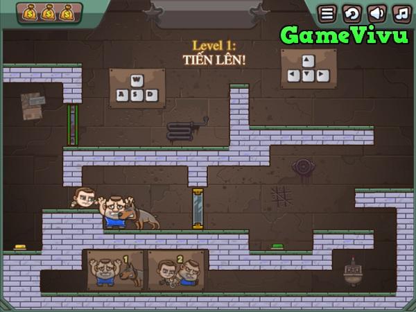 game Cặp đôi siêu trộm online 3 hình ảnh 1