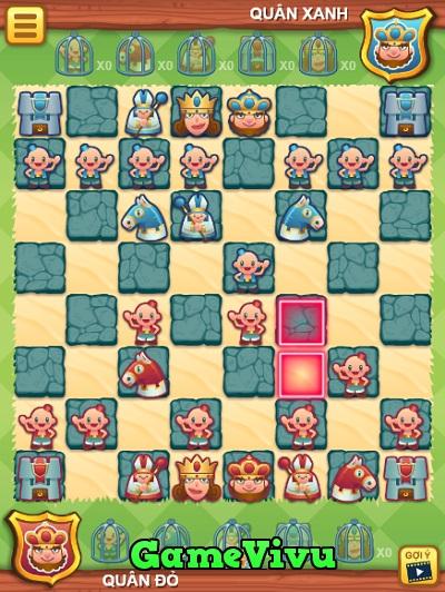 game Cờ vua hình người online