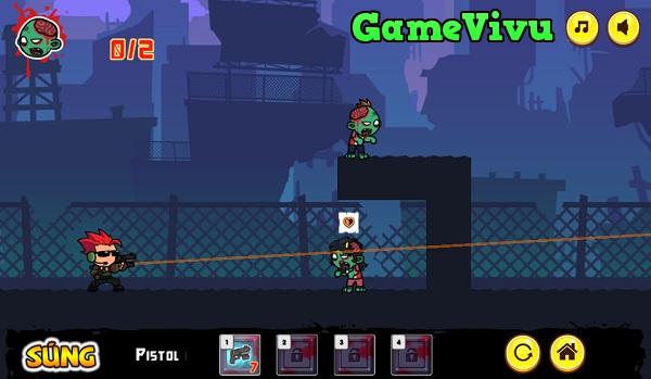 game Điệp viên bắn zombie hình ảnh 1