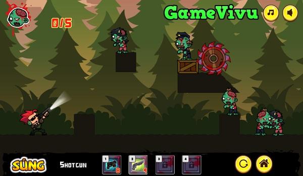 game Điệp viên bắn zombie hình ảnh 2