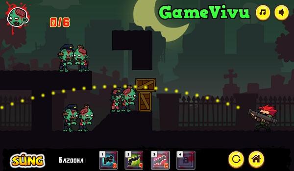 game Điệp viên bắn zombie hình ảnh 3