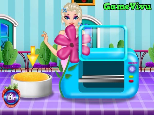game Elsa lam banh sinh nhat hinh anh 2