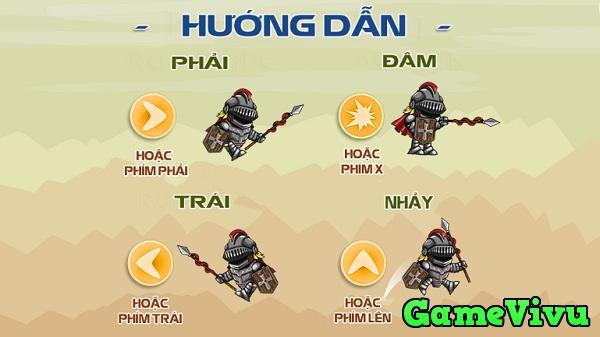game Hiệp sĩ giáp sắt phiêu lưu hình ảnh 1