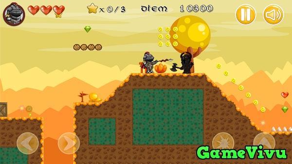 game Hiệp sĩ giáp sắt phiêu lưu hình ảnh 2