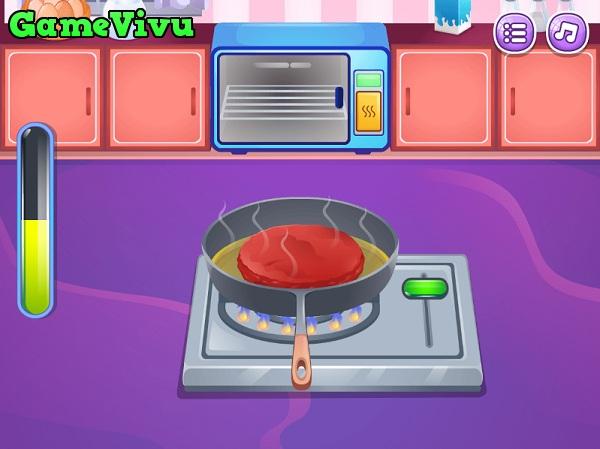 game Làm bánh hamburger dễ thương hình ảnh 2