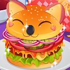 Làm bánh hamburger dễ thương