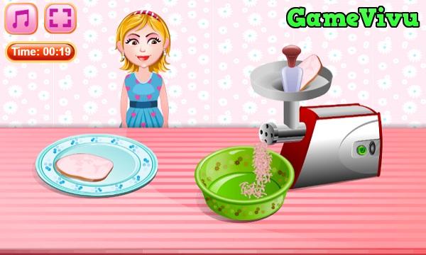 game Làm bánh pizza mini hình ảnh 1