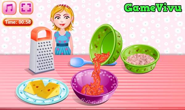 game Làm bánh pizza mini hình ảnh 2