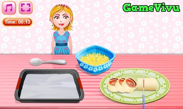 game Làm bánh pizza mini hình ảnh 3