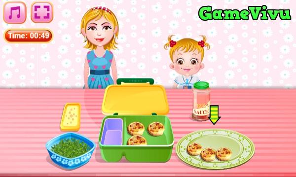 game Làm bánh pizza mini hình ảnh 4