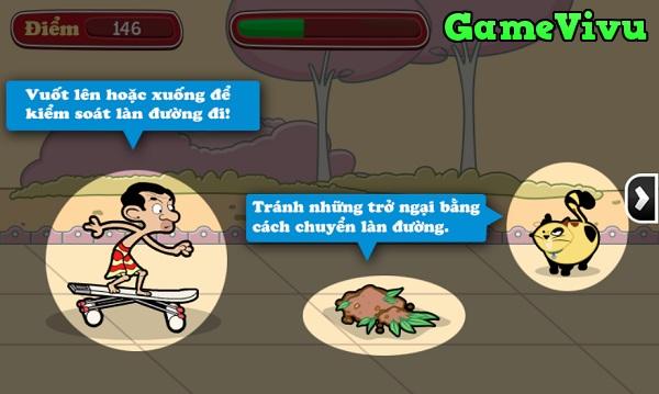 game Mr Bean truot van hinh anh 1