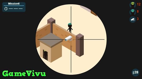 game Người que minecraft bắn tỉa hình ảnh 2