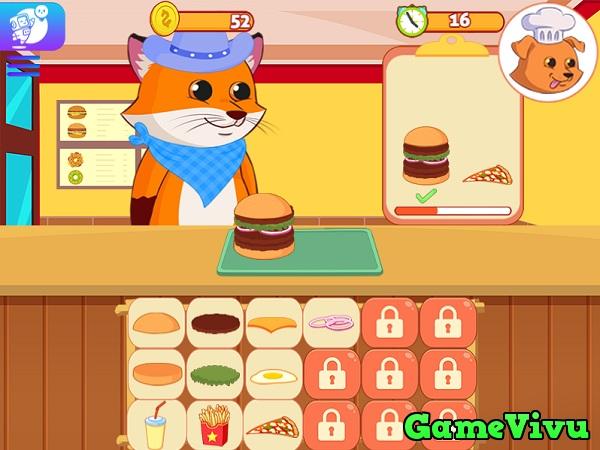 game Nhà hàng thú cưng hình ảnh 1