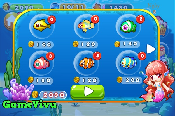 game Nuôi cá hình ảnh 2