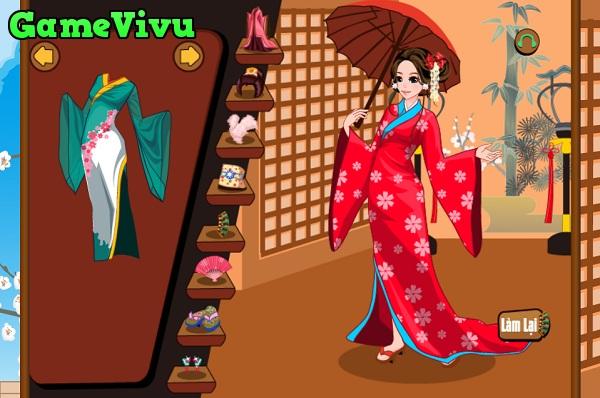 game Thoi trang Kimono Nhat Ban hinh anh 1