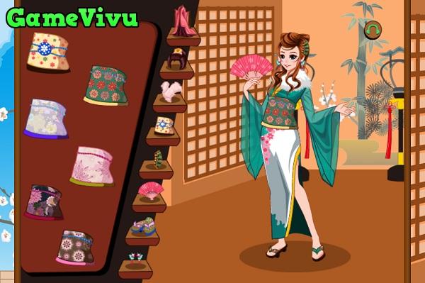 game Thoi trang Kimono Nhat Ban hinh anh 2